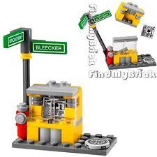 Lego Fire Hydrant Street Post Newspaper Stand ( No Minifigure No Box ) 79118 NEW