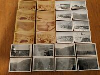 Lot of 24 Vintage Grand Canyon Photos from 1940s Sepia & Black & White Original
