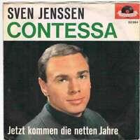 """Sven Jenssen - Contessa / Jetzt Kommen Die Netten Jahre 7"""" Vinyl Schallpla 16816"""