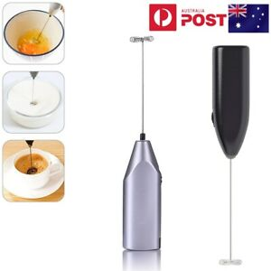 Electric Mini Foamer Kitchen Milk Frother Egg Beater Stirrer Whisk Drink Mixer