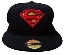 Superman - Genuine DC Comics Embroidered Adult Baseball Cap 56Fifty Size 7- 56cm