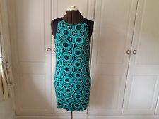 Green and white stretch dress from Ben de Lisi at Principles - size 12
