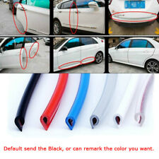 Car Door Edge Guard Trim Molding Rubber Seal Strip Scratch Protector 16FT/5M