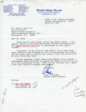 PAUL E. TSONGAS - TYPED LETTER SIGNED 04/14/1981