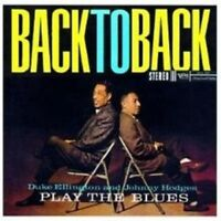 "DUKE ELLINGTON & J. HODGES ""PLAY THE BLUES..."" CD NEW!"