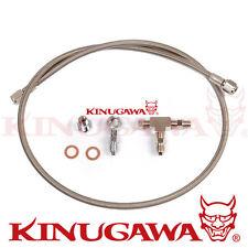 """Kinugawa Universal Turbo Oil Feed Line Garrett GT25 GT28 GT30 GT35 40 """" / 100 cm"""