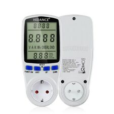 Ac Power Meters Digital Wattmeter 220v Electricity Consumption Monitor Measuring
