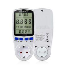 Medidores de alimentación de CA Consumo Electricidad Vatímetro digital monitor de 220v de medición