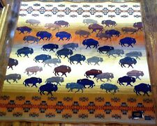 Pendleton Prairie Rush Hour Buffalo Blanket Throw New with tags