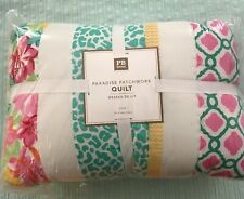 New POTTERY BARN Teen PARADISE PATCHWORK Comforter Quilt Twin (two available)