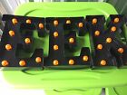 NEW ALCOVE Halloween Decor -  Lighted Sign BLACK EEK Battery OPERATED LOOK !!!