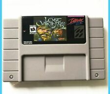 [ The Lost Vikings 2 ] SNES Super Nintendo NTSC puzzle platform video game cart