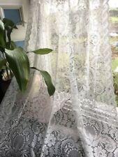 Rideaux et cantonnières panneaux pour le salon en 100% coton