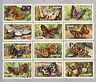 CIGARETTE CARDS. Gallaher Tobacco.BUTTERFLIES & MOTHS.(Complete Set of 48)(1938)