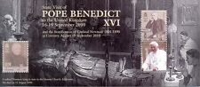 Isle of Man-Pope Benedict min sheet mnh - (2010)