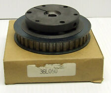 """TIMING BELT PULLEY ASSEMBLY WTH 36L050 PULLEY +1/2"""" BORE SURE GRIP TAPER BUSHING"""
