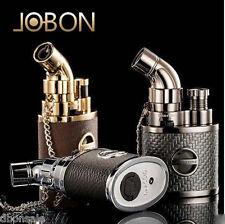 Windproof Jobon Jet Torch Flame Lighter Butane Cigarette Torch Lighter W/Lock