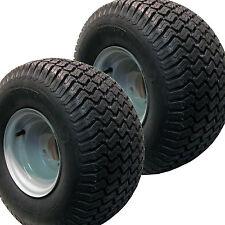 2) 20x10.00-8 Golf Cart Tires Wheels Rims fits EZGO Club Car Yamaha Harley more