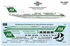 Revaro Decal HS-121 Trident 1E Pakistan International AIRFIX 1/144