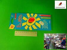 Stock di 15 Pacchi di Colori Elios a Matita da 12 Marca Fila per Scuola Disegno
