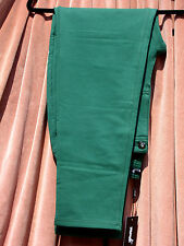 BNWT MONDI WOMENS FOREST GREEN SOFT JERSEY COTTON STRETCH JEANS SIZE 12 W 28-29""