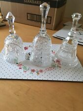 More details for crystal bells - x 3 various designs