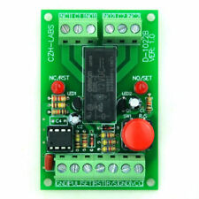 Panel Mount Momentary-switch/pulse-signal Control Latching DPDT Relay Module 24v
