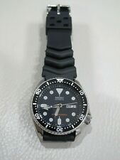 SEIKO SKX007 AUTOMATIC WATCH Stainless Steel Scuba Diver 7S26-0020   RARE   200m