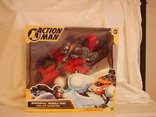 Hasbro. Action man ,  Snowball Mobile Fire