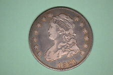 1821 Capped Bust Quarter-  Nice Details.   From local collection.
