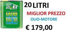 20 LT Olio Motore Selenia WR Pure Energy 5w30 ORIGINALE per Motori FIAT Multijet