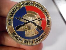 Grand Forks 2nd Annual Honor Guard Banquet US Air Force  USAF Challenge Coin