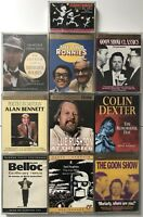 10 X Audiobooks Cassette Tapes- Two Ronnies+Bernard Cribbins+Sherlock Holmes (5)