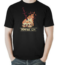 BONFIRE LIT Dark Souls Inspired Game T-Shirt Men's T-Shirts