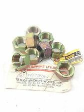 NEW! TAYLOR CATERPILLAR Y903391101 YALE  OUTER WHEEL NUTS 9-PK  FAST SHIP! (H151