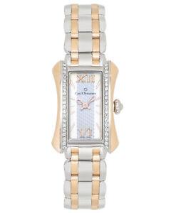 CARL F. BUCHERER DIAMOND 18K GOLD & STEEL ALACRIA QUARTZ LADIES WATCH MSRP $8200