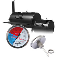 "3"" BBQ Charcoal Grill Pit Wood Smoker Temp Gauge Thermometer Smoke 100-550℉"