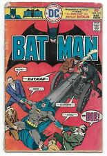 1976 DC Comic Book  BAT MAN  The Bank Shot That Baffled Batman !