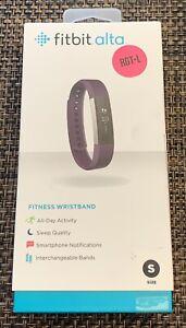 Fitbit ALTA Fitness Wristband Activity Tracker Small - Plum Purple