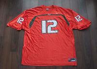 Hurricanes Miami Jersey Nike #12 Jim Kelly Size XXL *g0911a6