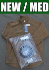 GENUINE USMC Polartec 100 Pullover Sweater Coyote US Marine military fleece MED