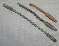 3 Civil War Relic Enfield Brass Barrel Brushes Dug at Chancellorsville