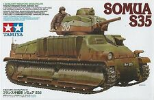 French Medium Tank Somua S35 1 35 Ta35344 - Tamiya modellismo
