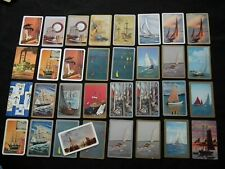 VINTAGE SWAP CARDS - SHIPS AND CARS