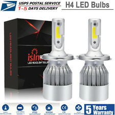 2X H4 HB2 1500W 225000LM Hi/Lo Beam LED Headlight Kit 9003 Bulbs 6000K Lights