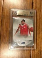 13-14 Upper Deck SP Authentic Rookie Card Giannis Antetokounmpo BGS 9.5 Gem Mint