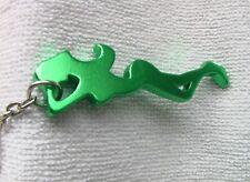 Schlüsselanhänger: GRÜNE DAME - Gesamtlänge  ca. 11,5 cm