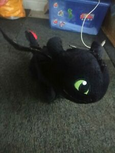 How To Train Your Dragon 3 Toothless Anime Plush Doll Night Light Fury Toys Gift