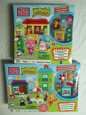 Mega Bloks Moshi Monsters Ooh La Lane 80631 & Casa De Monstruos 80627 Lego