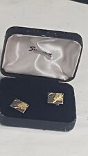 Stratton of London Cufflinks Boxed Sports Design Game of Badminton No 10